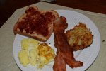 Great American breakfast. Who needs IHOP?