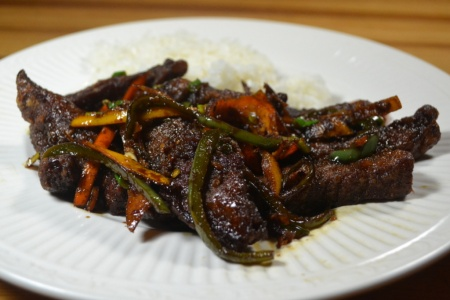 Rich and delicious Szechuan Beef
